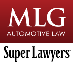 MLG Automotive Law Represents Legal Interests of Businesses and People in the Automotive Industry Mobile Logo