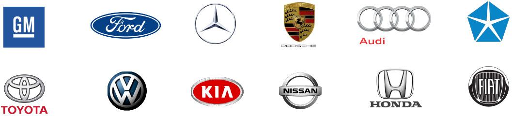 Various Auto Dealer Logos
